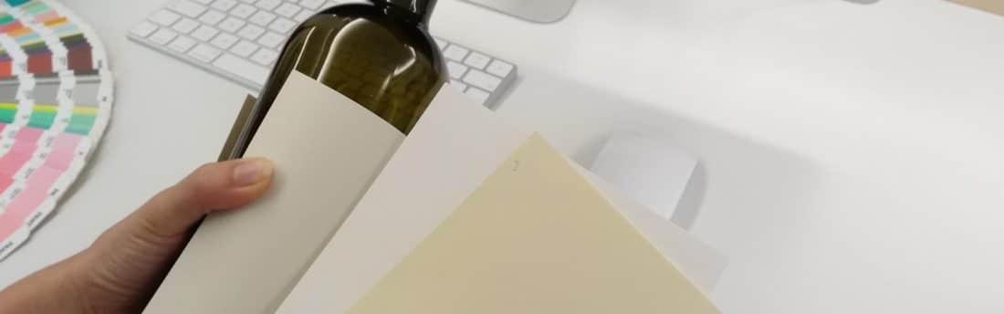 scelta carte e nobilitazioni per etichetta vino